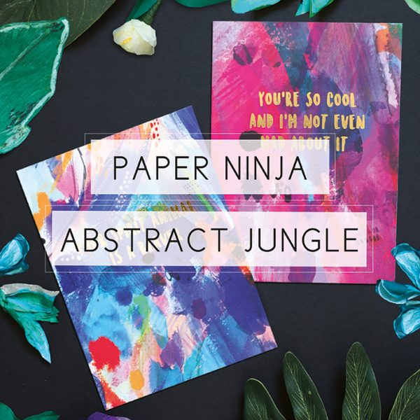 Paper Ninja Abstract Jungle