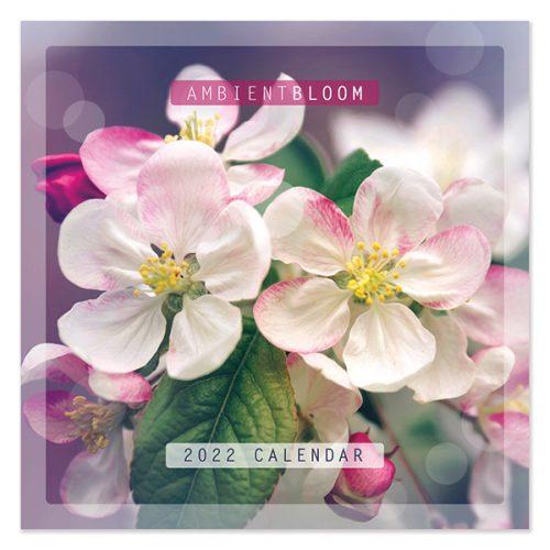 C22007 Ambient Blooms SQ Calendar