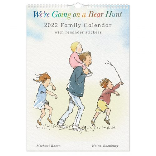 C22012 Bear Hunt A3 Family Calendar