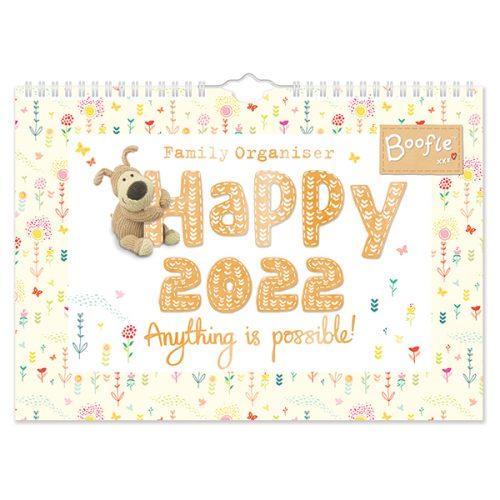 C22016 Boofle A4 Family Calendar