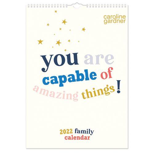 C22028 A3 Family Calendar