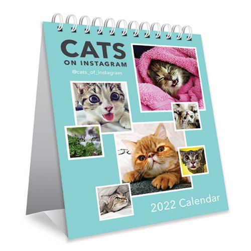 Cats on Instagram Desk Calendar