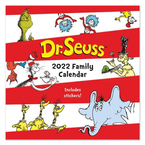 C22041 Dr Seuss SQ Family Calendar