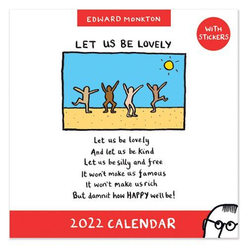 C22044 Edward Monkton SQ Calendar