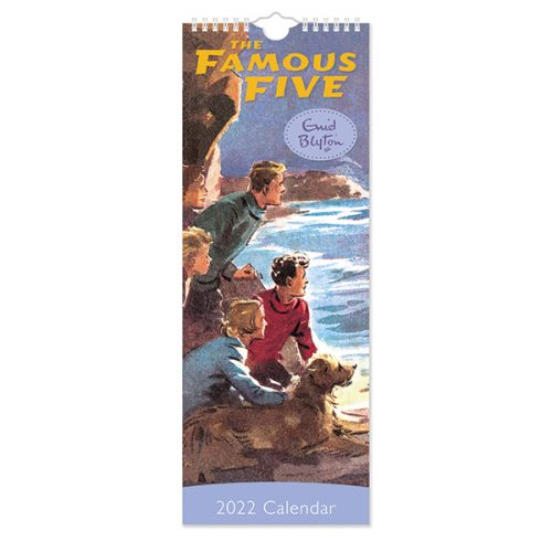 C22049 Famous Five Slim Calendar