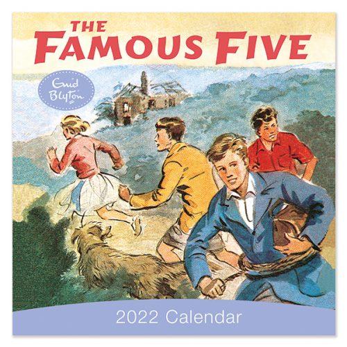 C22050 Famous Five SQ Calendar