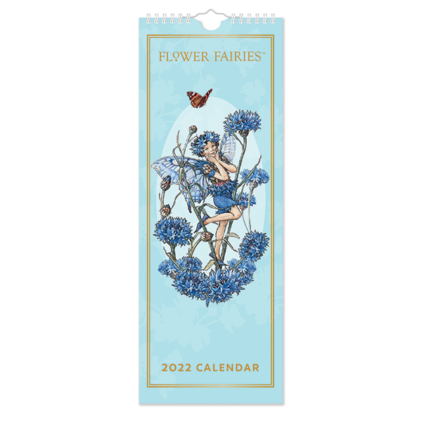 C22051 Flower Fairies Slim Calendar