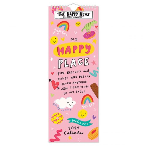 C22057 Happy News Slim Calendar