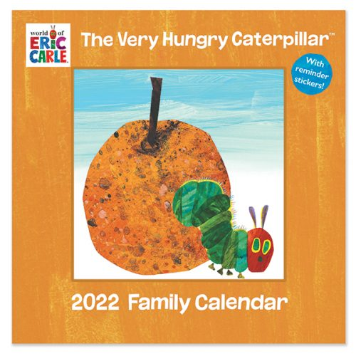 C22062 Hungry Caterpillar SQ Family Calendar