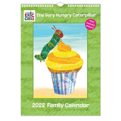 C22063 Hungry Caterpillar A3 Family Calendar