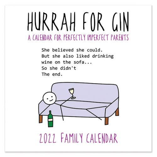 C22065 Hurrah for Gin SQ Family Calendar