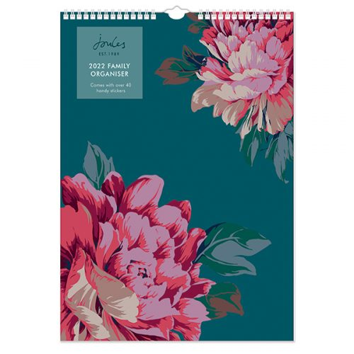 C22072 Joules Westbourne Floral A3 Family Calendar