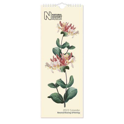 C22080 NHM Botanical Slim Calendar