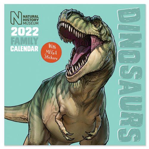 C22086 NHM Dinosaurs SQ Family Calendar