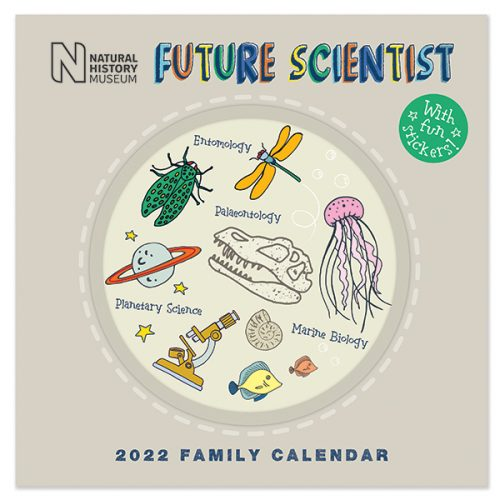 C22087 NHM Future Scientist SQ Family Calendar