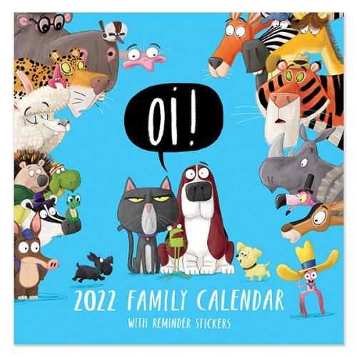 C22088 Oi! SQ Family Calendar