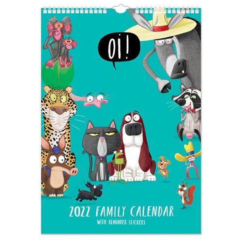 C22089 Oi! A3 Family Calendar