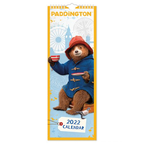 C22090 Paddington Slim Calendar (Movie)