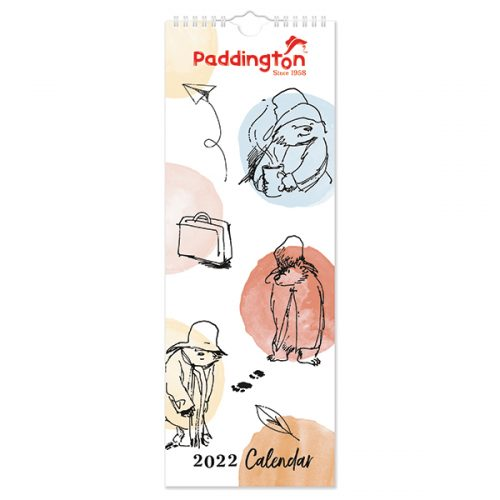 C22091 Paddington Slim Calendar (Illustrated)