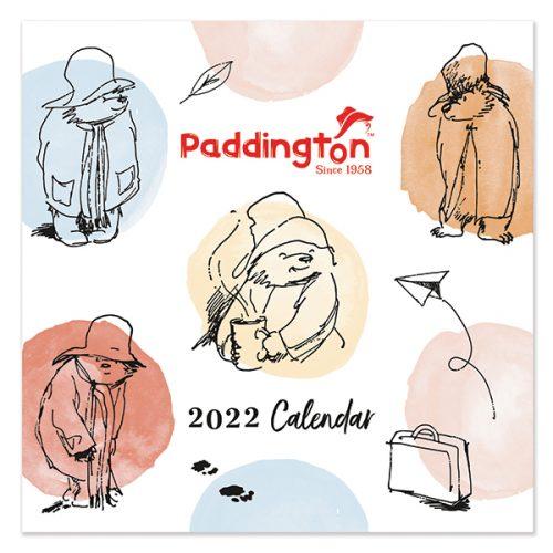 C22093 Paddington SQ Calendar (Illustrated)