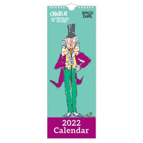 C22107 Roald Dahl Slim Calendar
