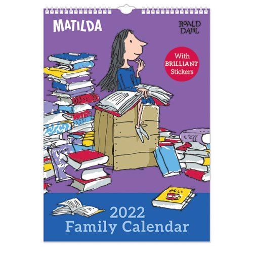 C22109 Roald Dahl A3 Family Calendar