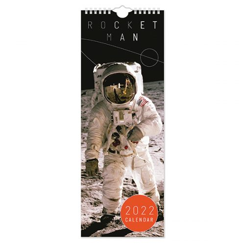C22110 Rocket Man Slim Calendar