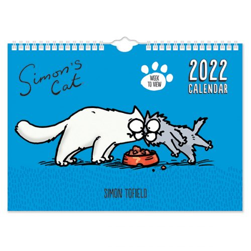 C22121 Simon's Cat A4 Family Calendar