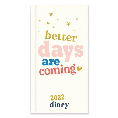 D22508 Caroline Gardner Positive Vibes Slim Diary