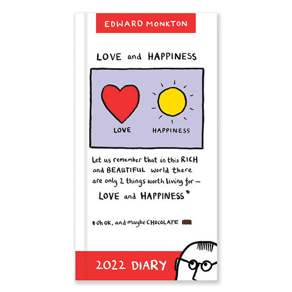 D22513 Edward Monkton Slim Diary