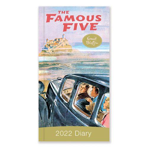 D22515 Famous Five Slim Diary