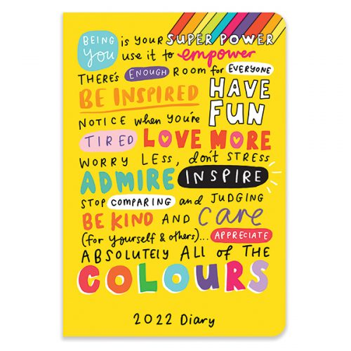 D22517 Happy News A5 Flexi Diary