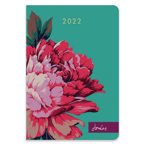D22523 Joules Westbourne Floral A5 Diary