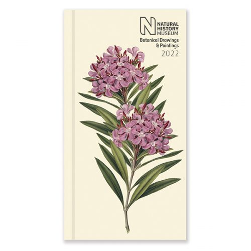 D22526 NHM Botanical Slim Diary