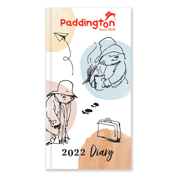 D22528 Paddington Slim Diary (Illustrated)