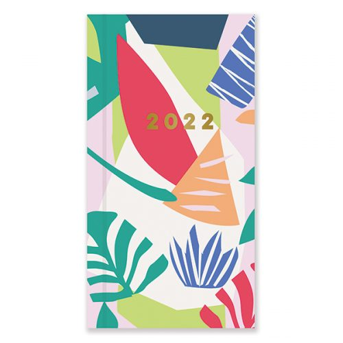 D22529 Abstract Patternology Slim Diary