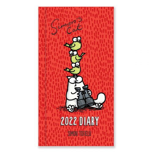 D22534 Simon's Cat Slim Diary