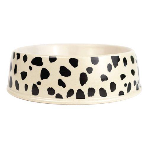 Emily Brooks Bamboo Dog Bowl