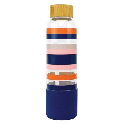 JLS2102 Joules Stripe Glass Bottle