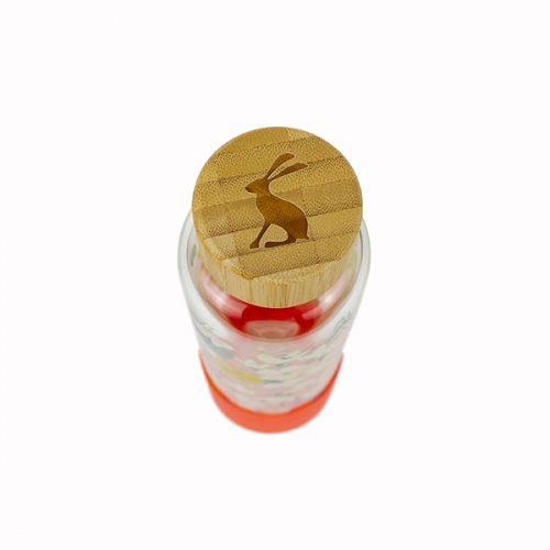 JLS2103 Joules Floral Glass Bottle